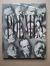 """Jean GENET """" Poèmes """" E.O. sur Pur Fil du Service de Presse, Barbezat 1948"""