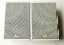 2X EUC MADE IN GERMANY CANTON GL-260 MONITORS  WALL SPEAKERS WHITE