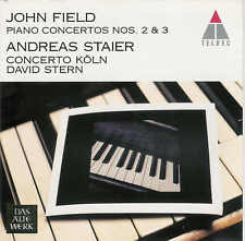 JOHN FIELD CD PIANO CONCERTO Nr 2 ET 3 - ANDREAS STAIER - DAVID STERN