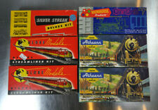 New ListingLot of Vintage Ho Scale Model Trains Globe Models Atheann Trains Roundhouse etc.