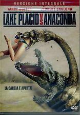 LAKE PLACID VS ANACONDA (2015) bollino noleggio con Robert Englund - DVD NUOVO
