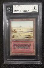 Alpha Badlands Dual Land BGS Graded 7 Near Mint MTG Magic The Gathering