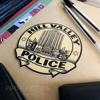 Back to the Future II - Prop 'Hill Valley Police' Sticker / Equipment Set Decal