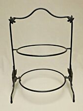 Longaberger Foundry 1998-2004 Wrought Iron Two Pie Server A Great Find!