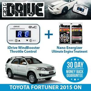 IDRIVE THROTTLE CONTROL FOR TOYOTA FORTUNER 2015 ON + NANO ENERGIZER AIO
