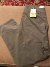 True Religion Womens Celina Cargo Rolled Pants Dusty Olive Size 32 (KM)