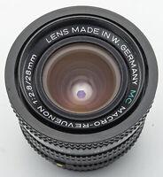 Macro Revuenon Macro-Revuenon MC 28mm 28 mm 1:2.8 2.8 -- Pentax PK