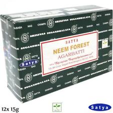 NEEM FOREST von Satya BNG Earth 12x 15g BIG PACK Aroma Nag Champa Incense