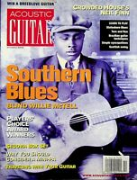 Acoustic Guitar Magazine October 2002 Blind Willie McTell m551
