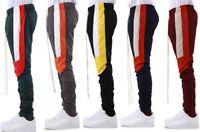 EPTM Epitome Men's Techno Side Zipper Long Drawstring Color Block Track Pants