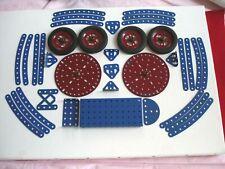Pièces bleues et roues neuves.Plaques (diam:11,3cm,épaisseur2mm) à moyeu.v photo