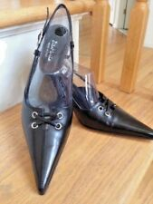 Woman Shoes by ZITA MARIA, Made in ITALY, Size 7.5, Color: Black