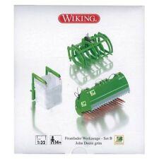 Altri modellini statici trattori verde in plastica