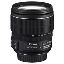 USED Canon EF-S 15-85mm f/3.5-5.6 IS USM Excellent FREE SHIPPING