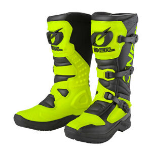 Oneal RSX Off Road Motocross Dirt Bike ATV Quad CE Approved Unisex Adult Boots