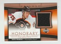 (59331) 2005-06 UPPER DECK TRILOGY HONORARY SWATCHES KEITH PRIMEAU #HS-KP