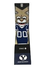 White One Size Donegal Bay NCAA BYU Cougars Sport Socks