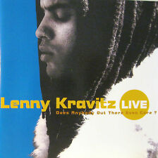 """LENNY KRAVITZ """"DOES ANYBODY OUT THERE EVEN CARE?"""" cd live mint"""