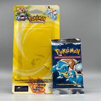 Empty Blister Booster Tortank Blastoise FR Ed 2 - Pokemon Opened - SET BASE (S)