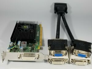 Dell OptiPlex 3010 3020 7010 7020 9010 9020 SFF Video Card DVI VGA Dual Monitor