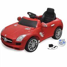 vidaXL Elektrische Auto met Afstandsbediening Mercedes Benz SLS AMG Rood Kind