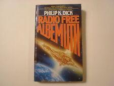 Radio Free Albemuth, Philip K Dick, Avon Paperback, 1987, 1st Printing