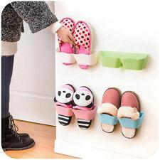 Amazing  Creative FamilyBathroom Shoes Storage Shelf Suction Wall Shoes Rack