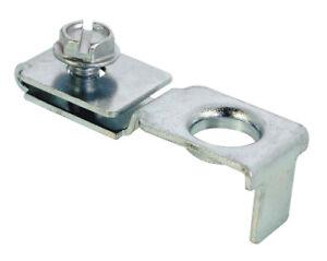Prime-Line  Steel  Zinc-Plated  Top or bottom pivot  Bracket