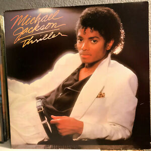 "MICHAEL JACKSON - Thriller (QE 38112) - 12"" Vinyl Record LP - VG+"