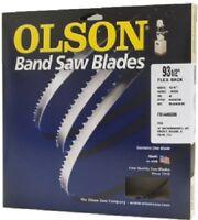 """Olson Band Saw Blade 3/16""""W x 93-1/2""""L, 10 TPI"""