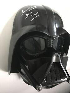 Star Wars DARTH VADER DAVID PROWSE Signed Autograph HELMET Beckett COA DAVE