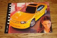 Original 2003 Chevrolet Cavalier Deluxe Sales Brochure 03 Chevy
