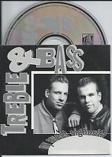TREBLE & BASS - my sweet signorita CD SINGLE 2TR CARDSLEEVE 1992 HOLLAND REL.