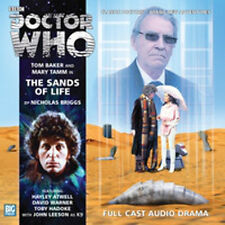 DOCTOR WHO Big Finish Audio CD Tom Baker 4th Doctor #2.2 THE SANDS OF LIFE - NEW