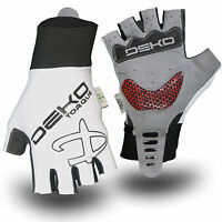 Deko Cycing Primacy Large Summer fingerless padded cycle Bike glove / Track Mitt
