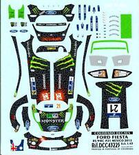 Colorado Decals 1/43 FORD FIESTA RS WRC #21 CHRIS ATKINSON MEXICO 2012