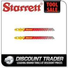 Starrett 2 Wood Cutting Jig Saw Blades - BU310DT-2
