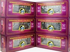 MTH Premier #20-90458: VIRGINIAN VGN 2-Bay Fish Belly Hopper 6-PACK New Stock