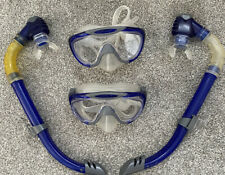 2 x Speedo Snorkels & 2 x Speedo Swimming Goggles Mask