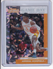 Admiral Schofield 2019 Contenders Draft Picks Game Day Ticket Cracked Ice /23 RC