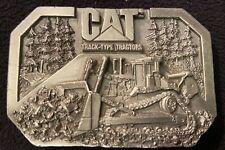 Caterpilar Teactor Cat Track-Type Tractors Vintage Belt Buckle Ltd Edition