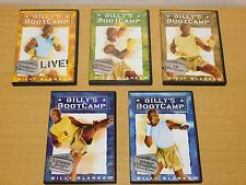 Billy's Boot Camp Fitness Dvd Lot 5