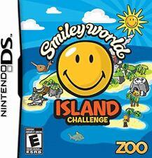 SMILEY WORLD ISLAND CHALLENGE DS NINTENDO NUOVO ITALIANO 3DS 2DS + OMAGGIO
