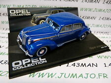 OPE94 voiture 1/43 IXO eagle moss OPEL collection : ADMIRAL 1937/1939 Bleu