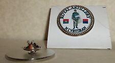 HM Armed Forces Royal Artillery N/Ireland Veteran lapel pin badge .