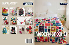 Patons Pattern Book #1316 Modern Crochet 12 Designs to Crochet