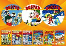 Buster comic Weekly - Annuals - Specials On 3 DVD Rom's