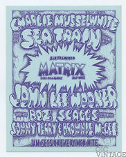 John Lee Hooker Charlie Musselwhite Handbill 1970 March Matrix San Francisco