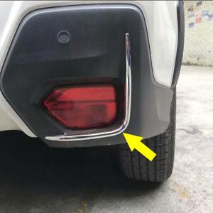 Chrome Rear fog lamp light Cover Trim Garnish fits Subaru Crosstrek XV 2018-2021