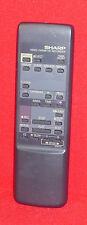 Original Genuino Sharp Video Vcr Control Remoto De Cassette Grabador VTR G0961GE